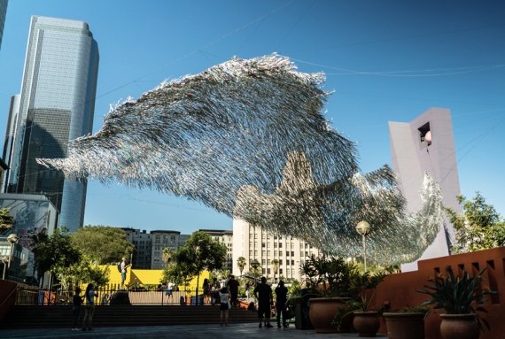 Liquid Shard - an outdoor sculpture like no other