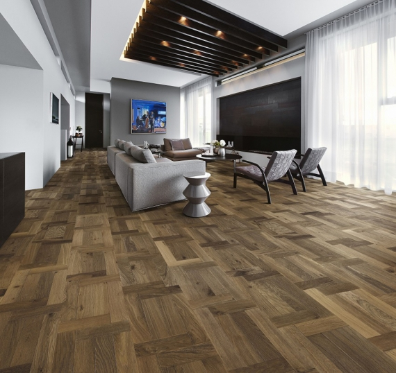 Kährs launches new timeless, preassembled 'French Pattern' wood flooring design