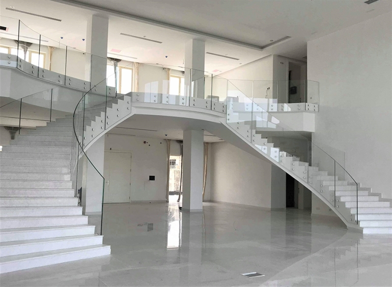 Frameless Glass Balustrades, Nigeria