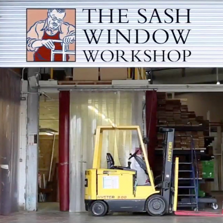A Tour of The Sash Window Workshop