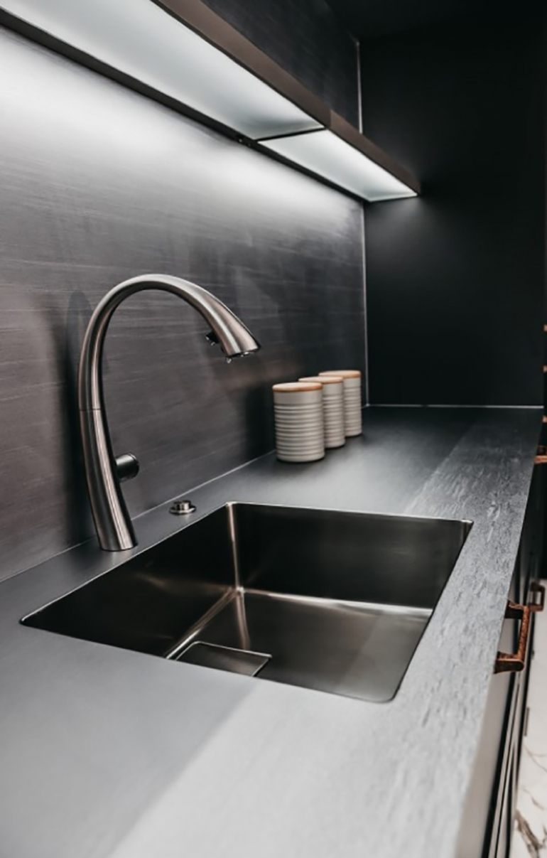 KWC's premium ZOE range of sinks and taps exude form and function