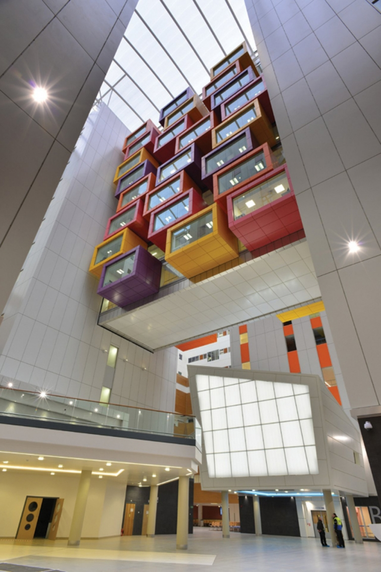 Armstrong Ceilings prove just the tonic for patients and the environment in Glasgow