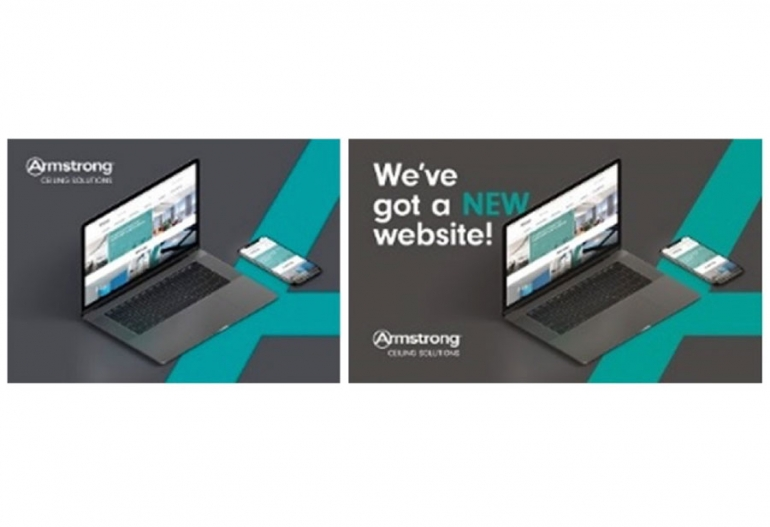 "Armstrong Ceiling Solutions launches new website Site designed to reflect offer of ""the best products, value and service"" at a click of a button"