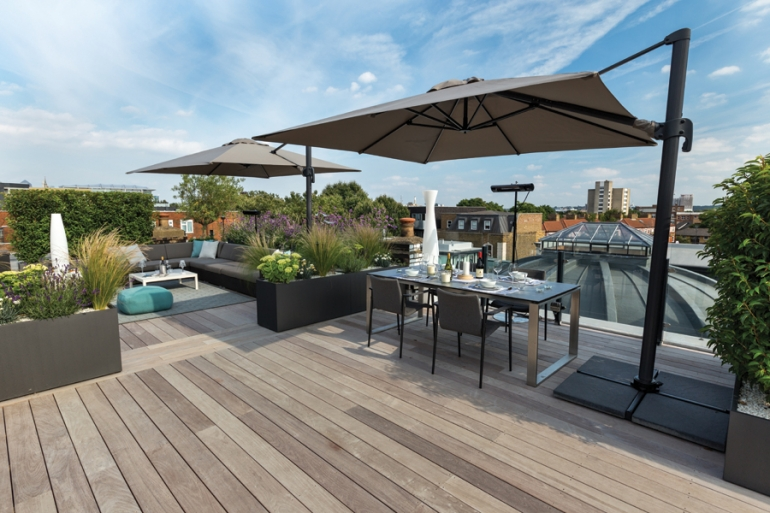 London's ultimate roof terrace