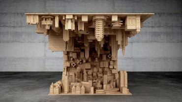 A tsunami-inspired adaptation of the coffee table