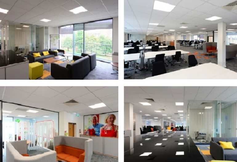 Ultra-green Armstrong ceilings help npower with in-house sustainability Manufacturer's Dune eVo tiles feature in an agile working programme.