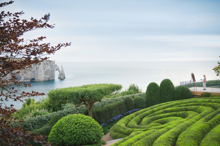 Explore Les Jardins d'Étretat, an open air museum of contemporary art