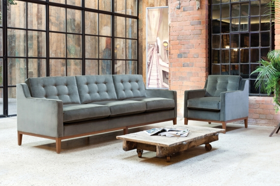Lexe seating collection fuses classic with contemporary