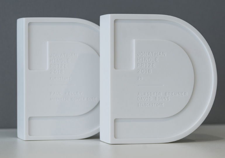Jonathan Hindle Prize for outstanding design awarded to two Design Guild Mark recipients
