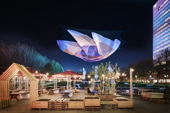 Discover Montreal's floating sculpture