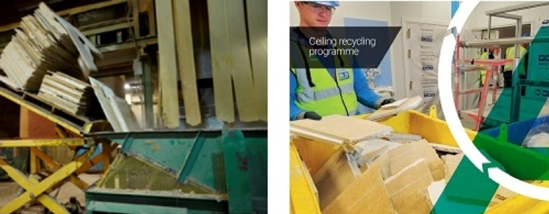 Armstrong Ceiling Solutions has simplified its recycling scheme