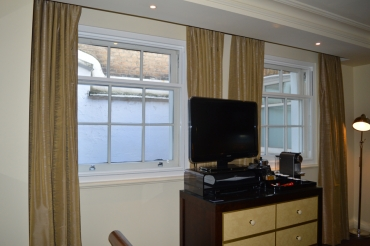London hotel continues to make rooms more comfortable with secondary glazing