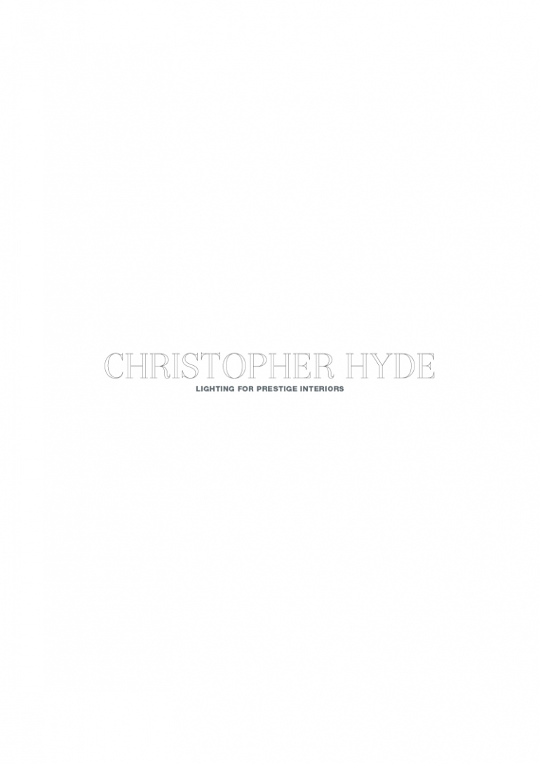 Christopher Hyde Catalogue