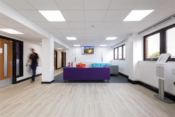 Altro's Modular Flooring System Gives Top University a Touch of Class