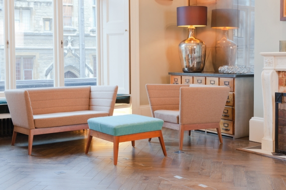 Lyndon's Callisto seating oozes retro cool
