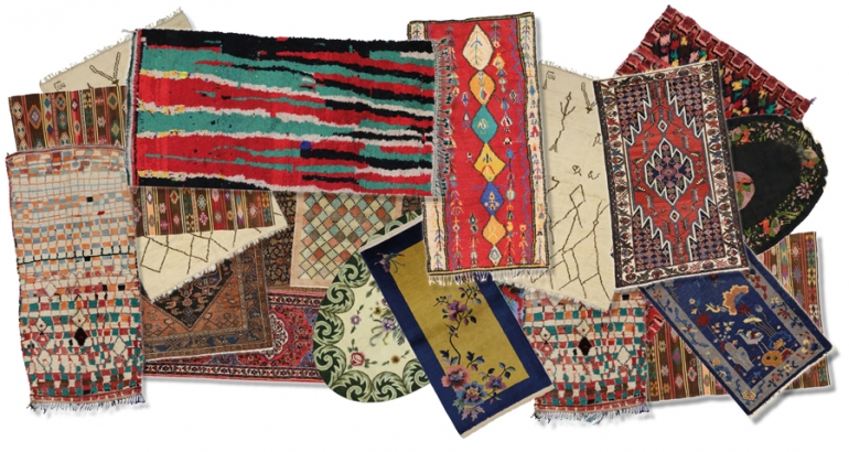 Understanding symbolism in antique rugs