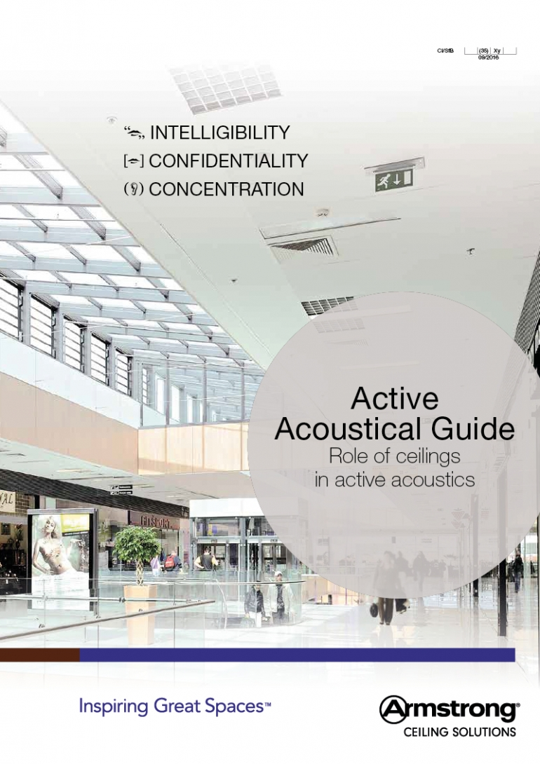 Active Acoustical Guide