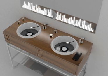 Vinyl - The latest creation by Gianluca Paludi