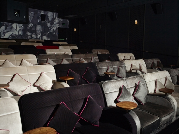 Lyndon Design seating - a box office hit at Everyman cinemas