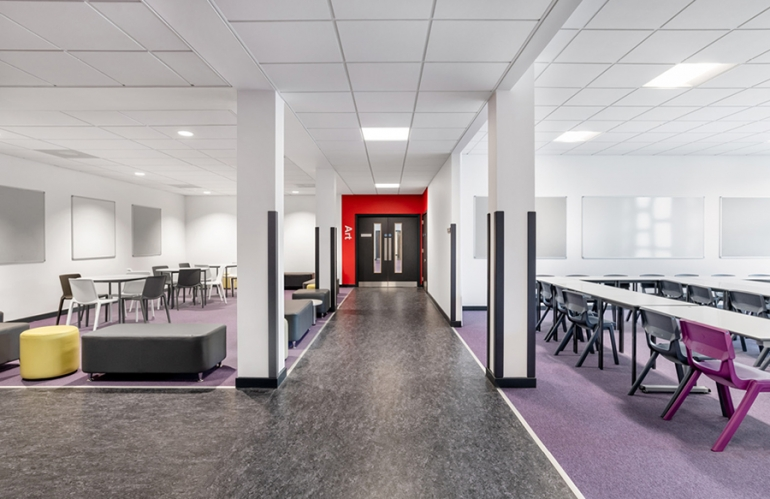 New Inverurie Community Campus Features Vast Selection of KI Seating