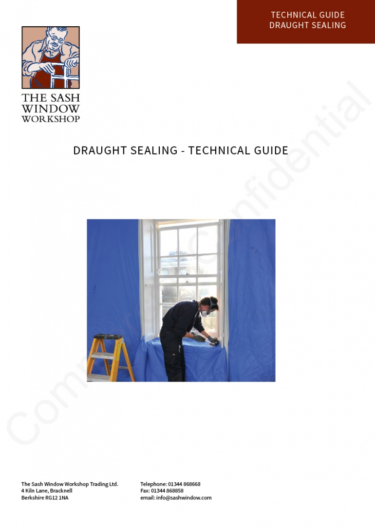 Draught Sealing - Technical Guide