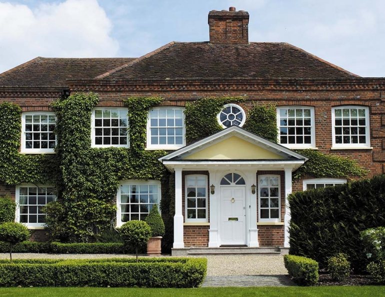 Improving kerb appeal with replacement windows