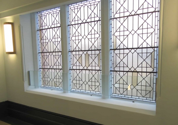 Structural Glass installations at Hastings Library