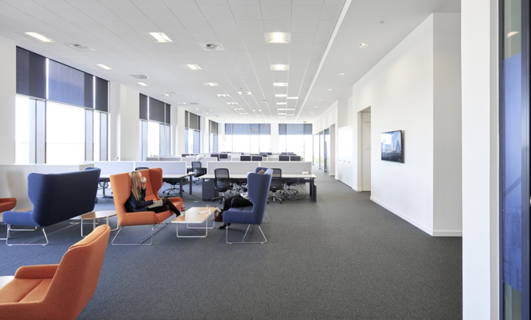 New Dune eVo ceiling tile range helps architects meet targets around sustainability and acoustics