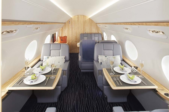 High-flying Luxury