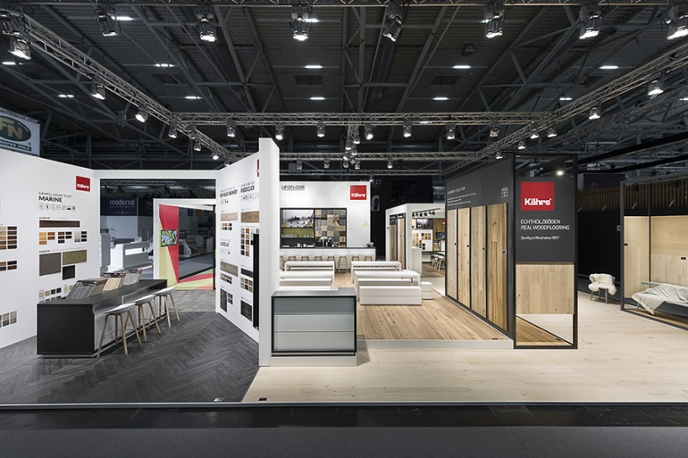 Kährs Group unveil new wood designs and introduce 'Kährs Luxury Tiles' at BAU